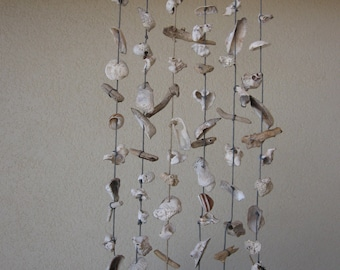 wind chime with string grey