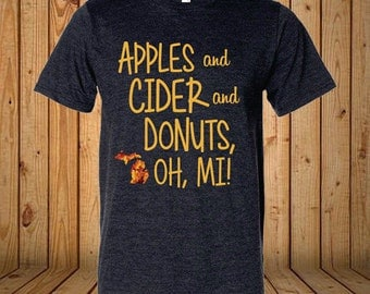Apples and Cider and Donuts Shirt