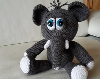 Hook - Amigurumi ELEPHANT