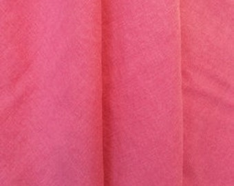 Washed Linen - Raspberry Pink