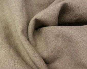 Washed Linen - Fawn