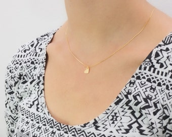 Heart I delicate necklace I 925 gold plated