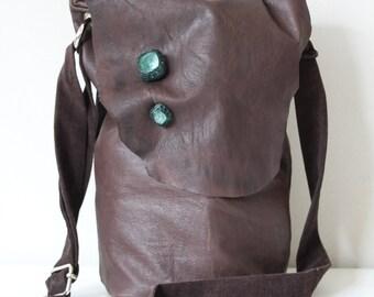 Leather bag/handbag/leather/leather pocket bag
