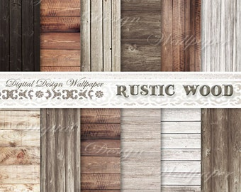 COMMERCIAL USE,Digital Paper Wood,Rustic Wood Digital Paper,Scrapbook Paper,Printable Digital Wood Background,Wood Texture,Photo Background