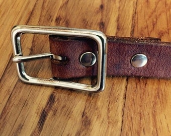 Infant Leather Belt
