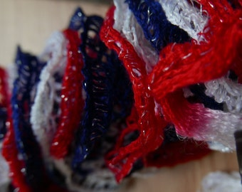 Red, White, & Blue Patriotic Pirouette Scarf