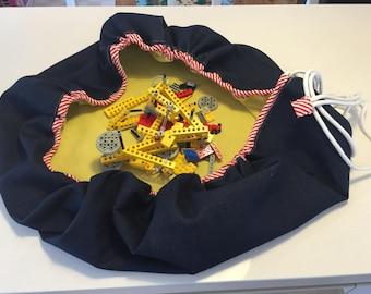 Lego Bag Toy Storage Bag & Playmat Drawstring