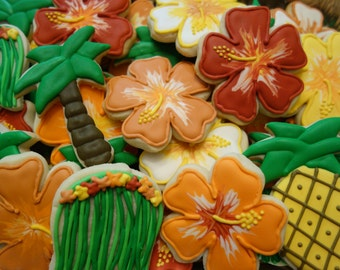 Luau Sugar Cookies