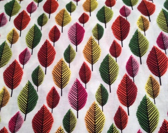 Pack and play, playpen, play yard, pack n play, fitted sheet Autumn leaves fabric girl colours