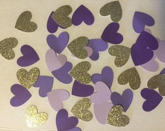 Heart Birthday Party Confetti