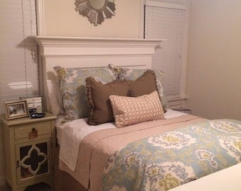 Custom Bed Frame - Mantel Dentil Molding