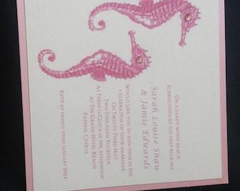 Overseas Printed Wedding Invitations