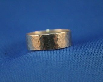 Textured Sterling Ring