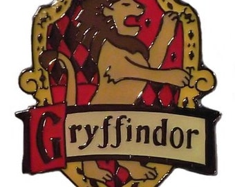 Harry Potter Series House Gryffindor Crest Pin