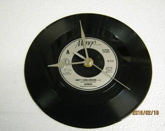 Aswad Record Wall Clock