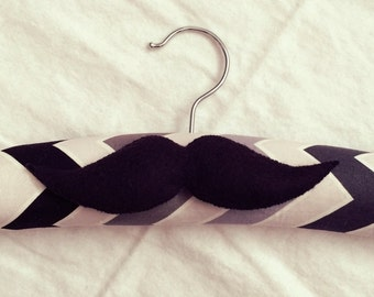 Handmade Boy's Moustache Hanger