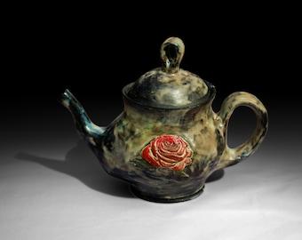 Decorative Rose Teapot