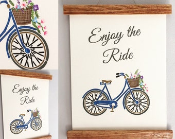 Handpainted Wooden wall hanging