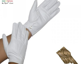 Men Leather Gloves (HSMM)