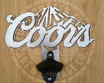 Coors Bottle Opener Etsy