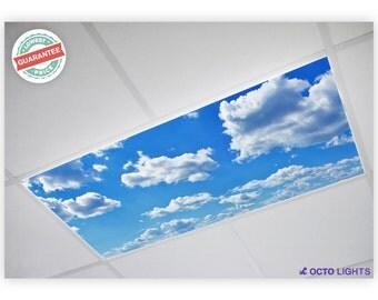 Fluorescent Light Covers - Cloud 001