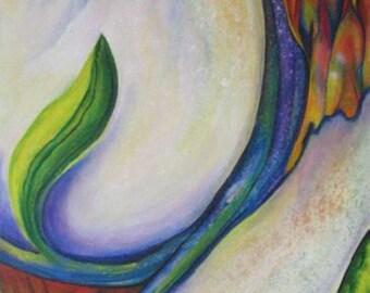 Print giclee on fine art Bamboo paper