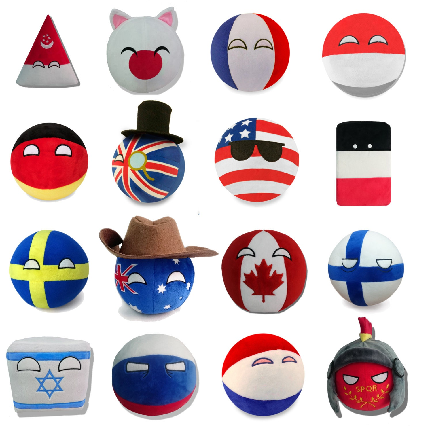 new countryball plushies ive - photo #15