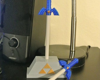 Master Sword Pen - Masterpen and Pedestal