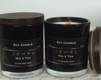 Soy Candle, Champagne Pear