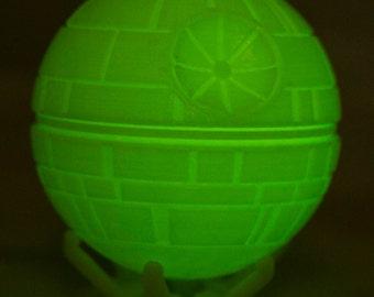 Star Wars Death Star 3D Printed Glow in the Dark
