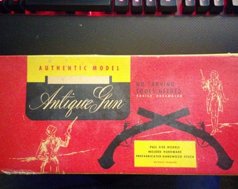 1950's antique gun model