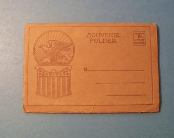 Vintage EMMITSBURG MARYLAND POSTCARD Souvenir Book