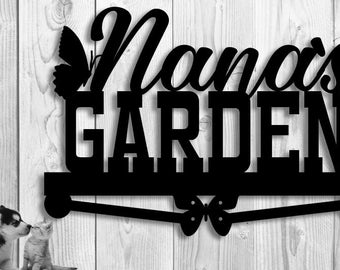 Metal Garden Sign - Nana's Garden