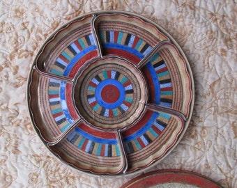 Vintage Porcelain Hand-Painted Tray, Chikamarachi Noritake China, Vintage China