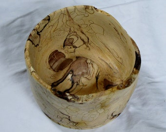 Hand Crafted Spalted Dogwood Bowl