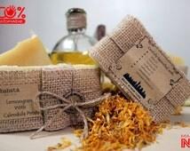 Lemongrass with Calendula Petals Best Handmade Soap