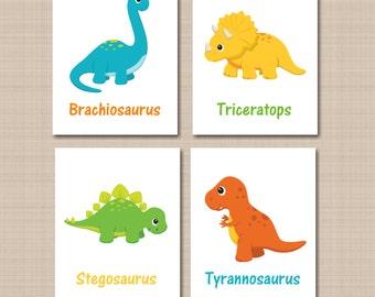 Dinosaur Wall Art dinosaur decor | etsy