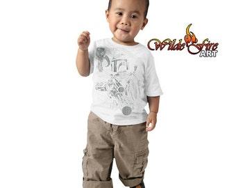 Kid's Boba Fett T Shirt - Signer by Jeremy Bulloch (Star Wars)