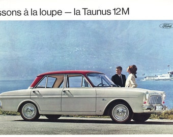 Brochure FORD Taunus 12 M (French)