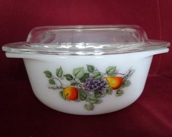 Arcopal Arcuisine, Arcuisine oven dish, Arcuisine crockery, pyrex oven dish, Arcopal bowl, Arcopal crockery, Fruits de France, Arcuisine