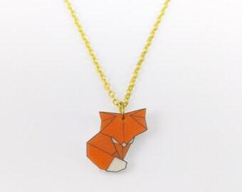 Origami Fox chain