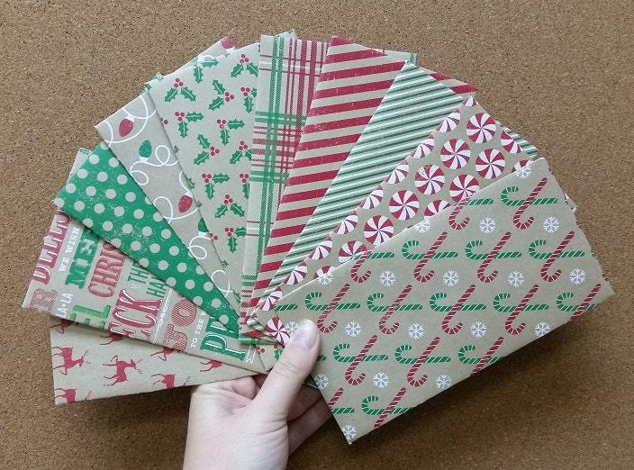 Christmas Money // Cash Envelopes // Gift by KarasKraftz ...