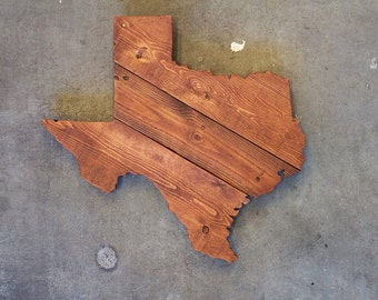 Texas State Wood Sign, Texas State Wall Art, Texas  Sign, Texas Wall Art, Texas Home Decor, Texas Wood Sign, Texas Reclaimed Wood Sign