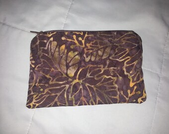 Fall Inspired Change Purse