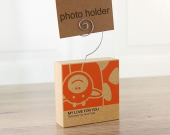 Photo Holder Giraffe Clever Critter