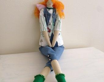 Angel Doll Tilda Photographer