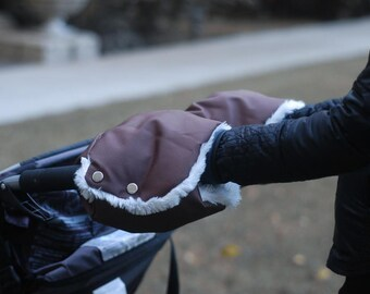 Stroller Muff: weather-proof warmers for mums & dads!
