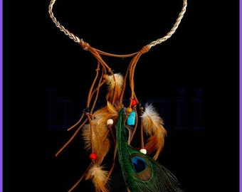"Ethnic necklace of Bohemian inspiration ""Navajo"""
