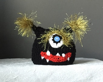 Beastly B monster hats