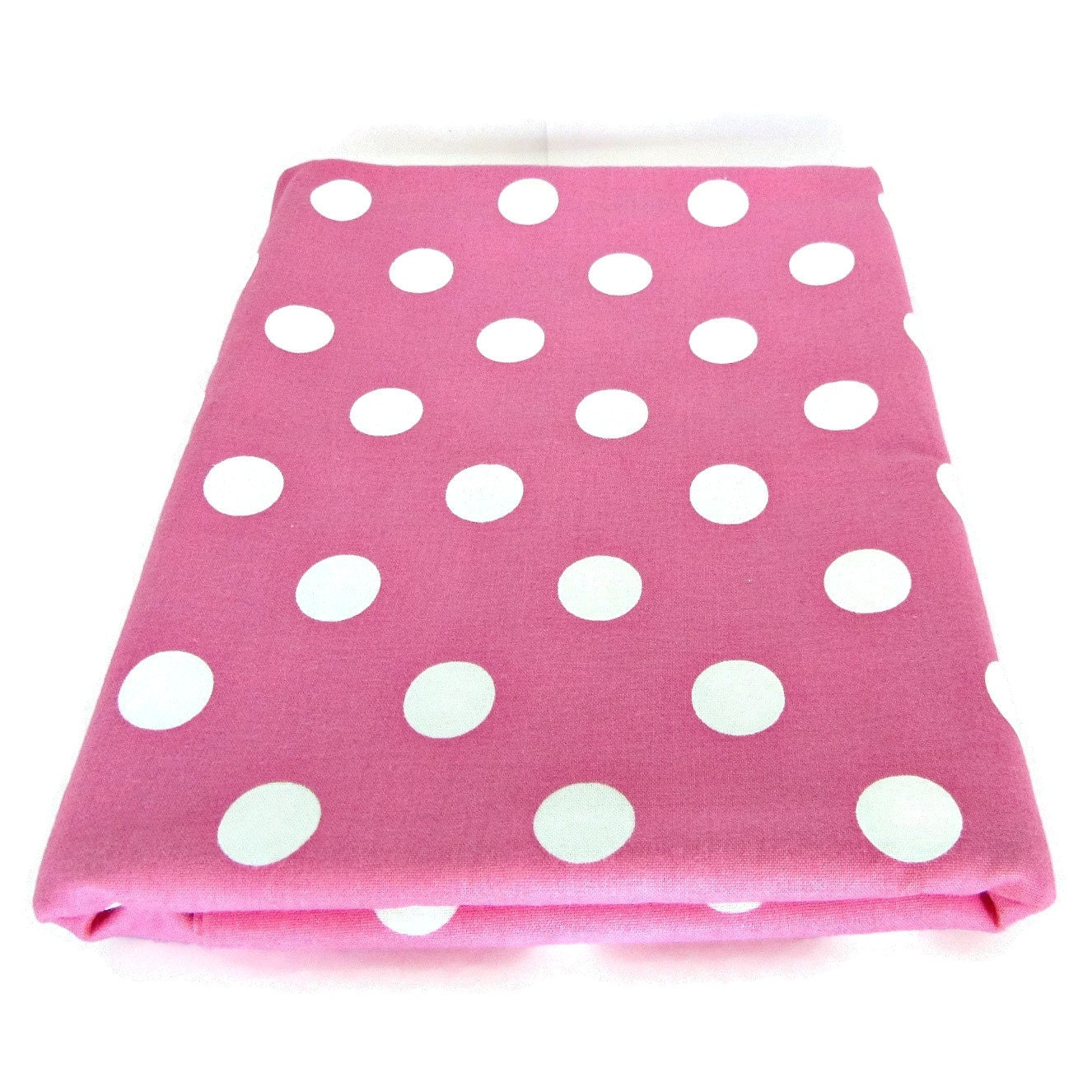 hot pink polka dot fabric pink dots fabric polka dot. Black Bedroom Furniture Sets. Home Design Ideas